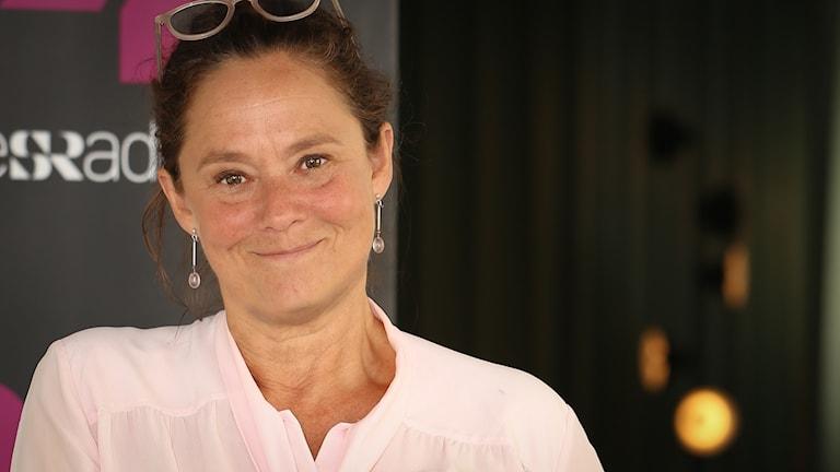 Pernilla August. Foto: Åsa Stöckel/ Sveriges Radio