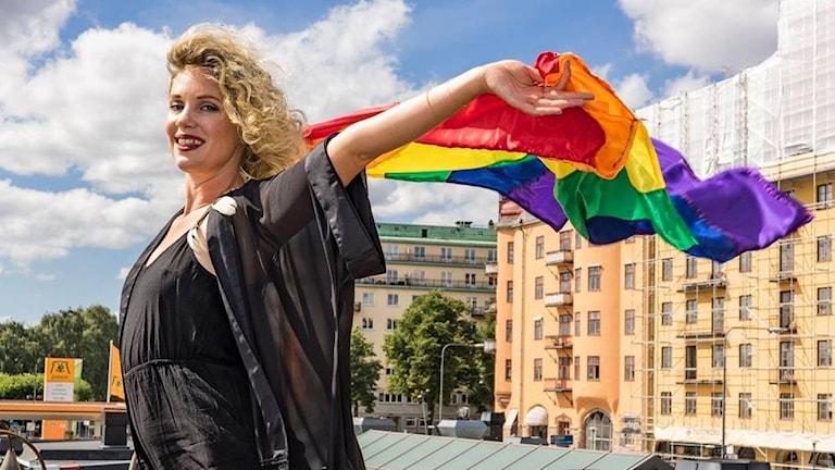 Amanda Colldén är en av personerna bakom podden Alla våra ligg