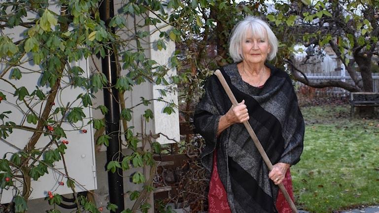 Birgitta Lindvall, pensionär (som lever med diagnosen hjärtflimmer)