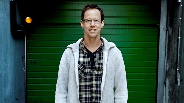 Författaren Markus Lutteman.