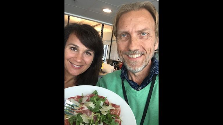 Alexandra Zazzi och Erik Blix