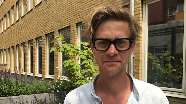"Komikern Anders ""Ankan"" Johansson. Foto: Josefin Modig/Sveriges Radio"