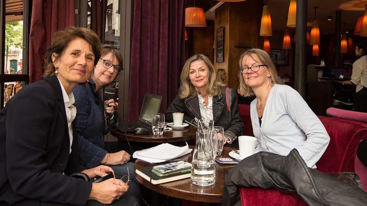 Alice Petrén, Lotta Bromé, Veronika Wand-Danielsson och Maria Sjöberg-Lamoroux