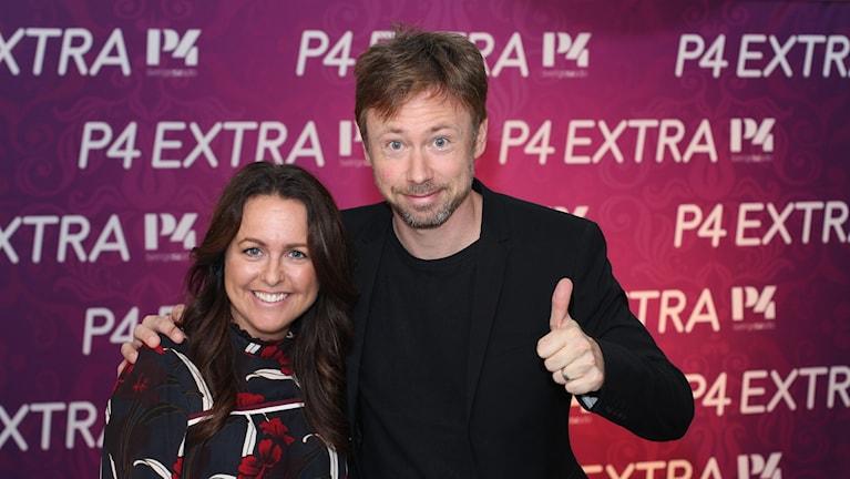 Sarit Monastyrski och Tobias Persson.
