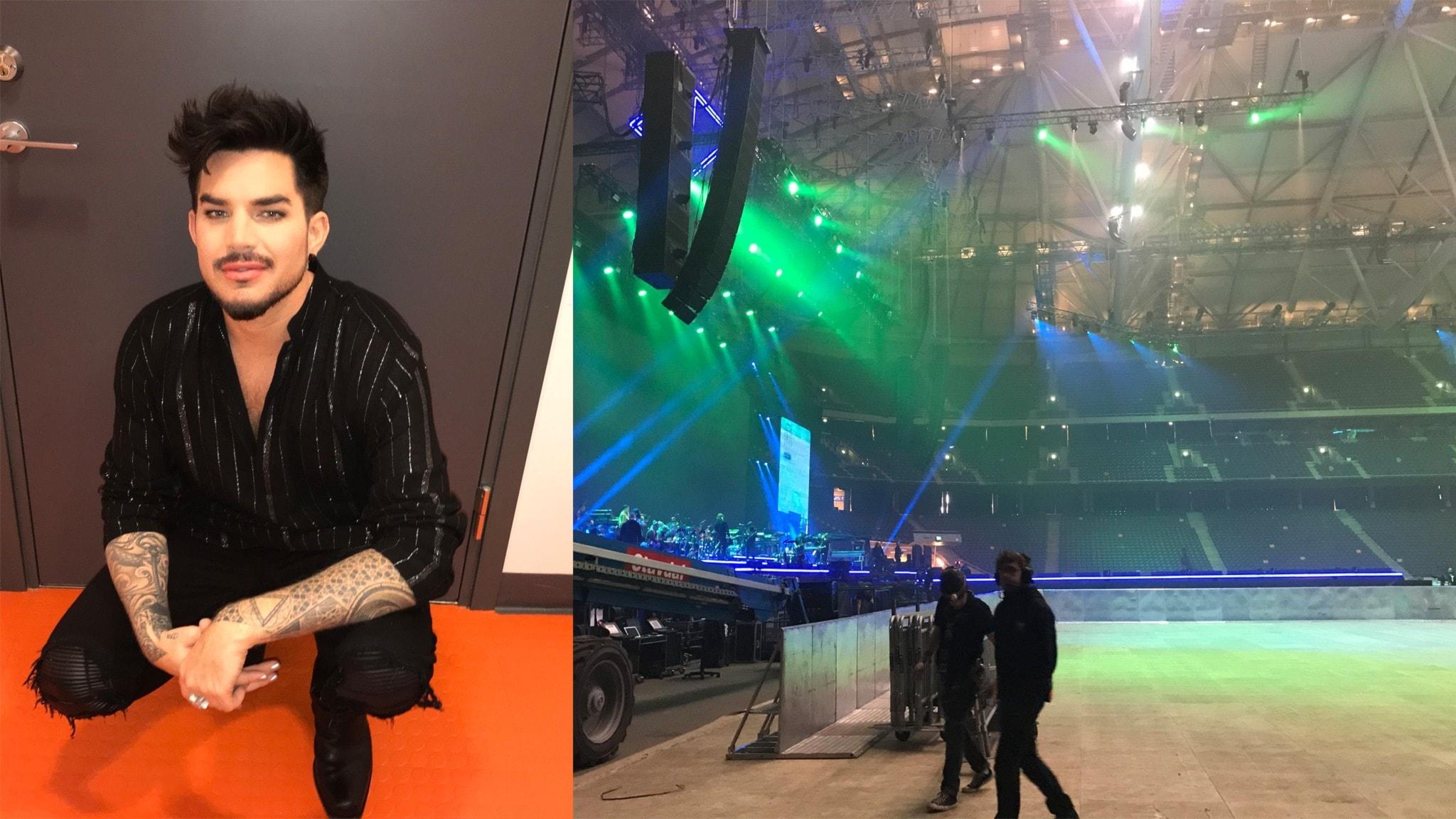 Adam Lambert hyllar sin vän Avicii ikväll - P4 Extra