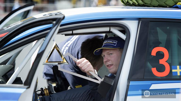 Johan Kristoffersson är son till tidigare racingproffset Tommy Kristoffersson.