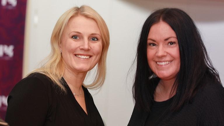Therese Albrecttson och Martina Thun