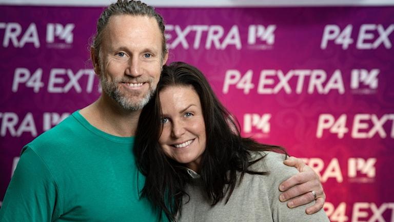 Peter Jihde och Titti Schultz