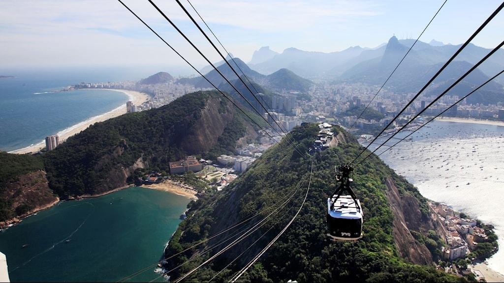 Linbana i Rio de Janeiro