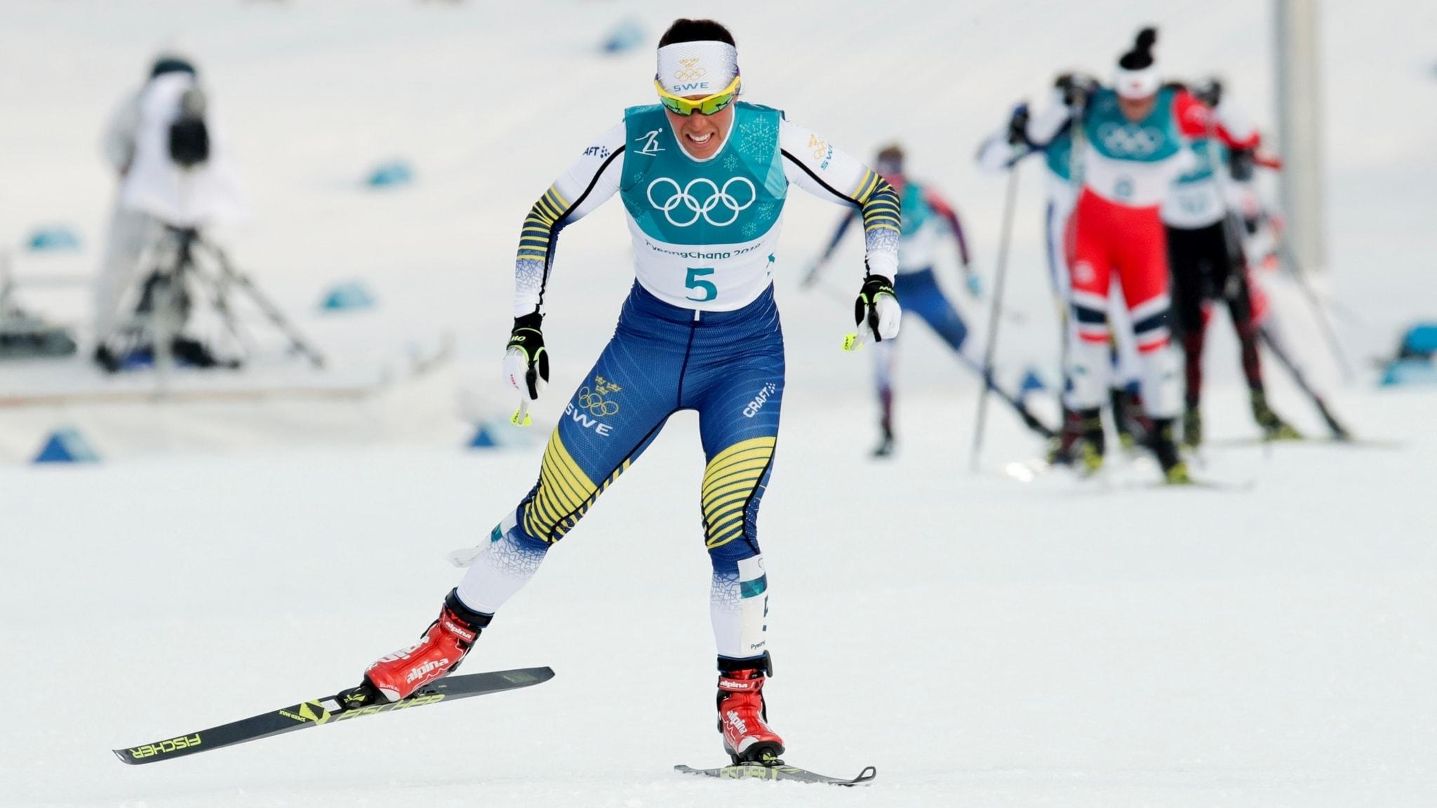 Guldstart för Sverige i OS