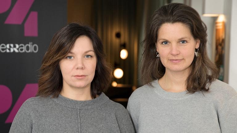 Elisabeth Jelleryd och Karolina Janson