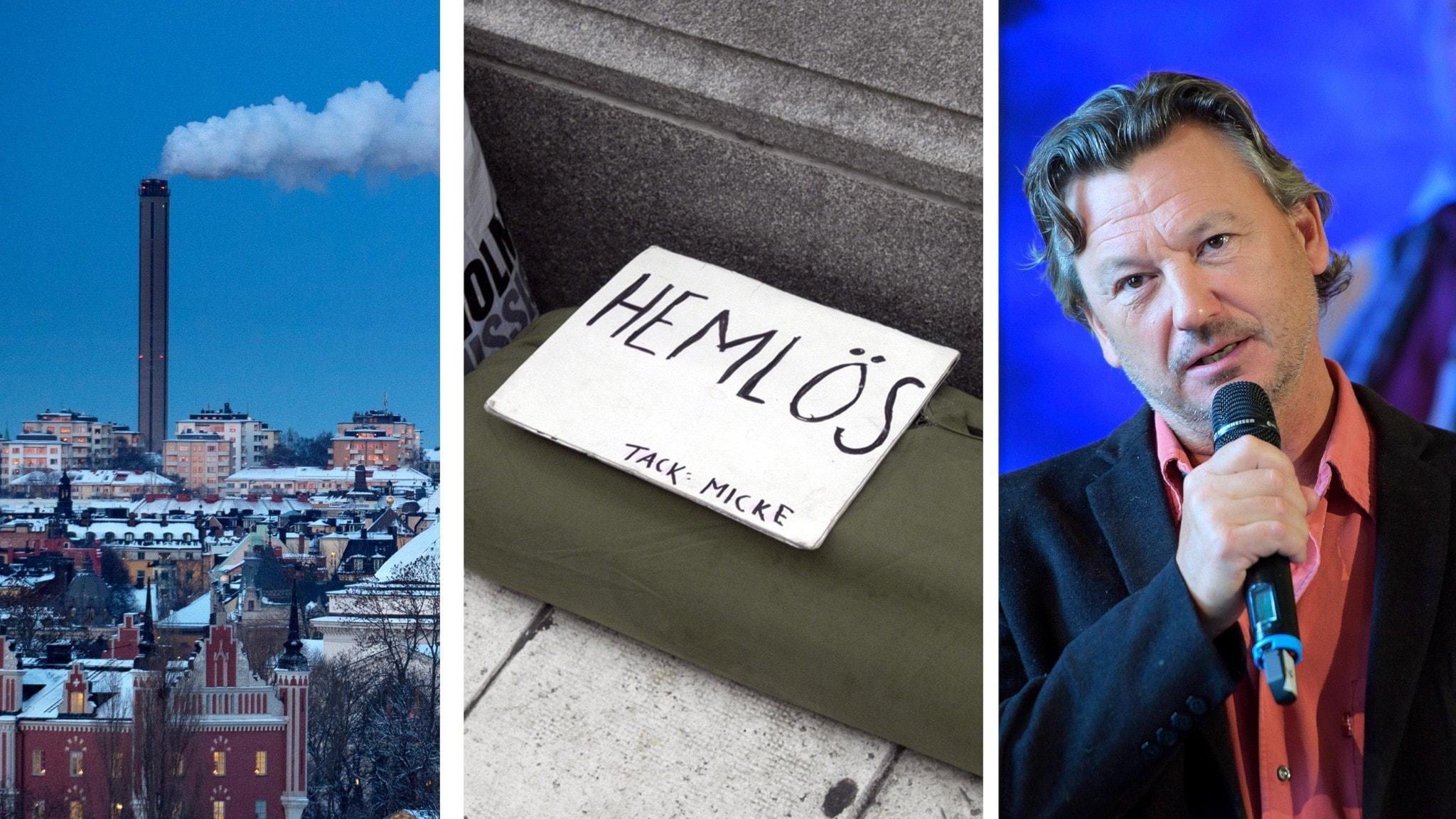 Klimatmöte, hemlösa, Anders Ekborg