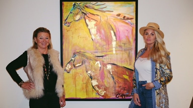 Agneta och Carolina Gynning.