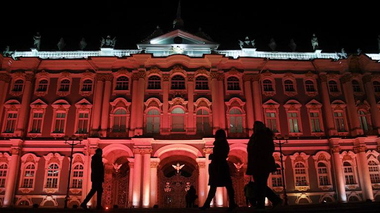 Ermitaget i St. Petersburg.