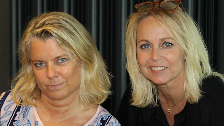Carin Hjulström och Annika Andersson