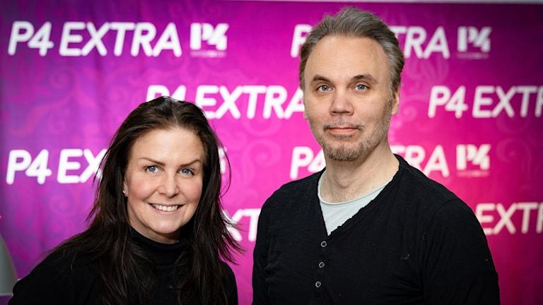 Titti Schultz och Göran Lundström