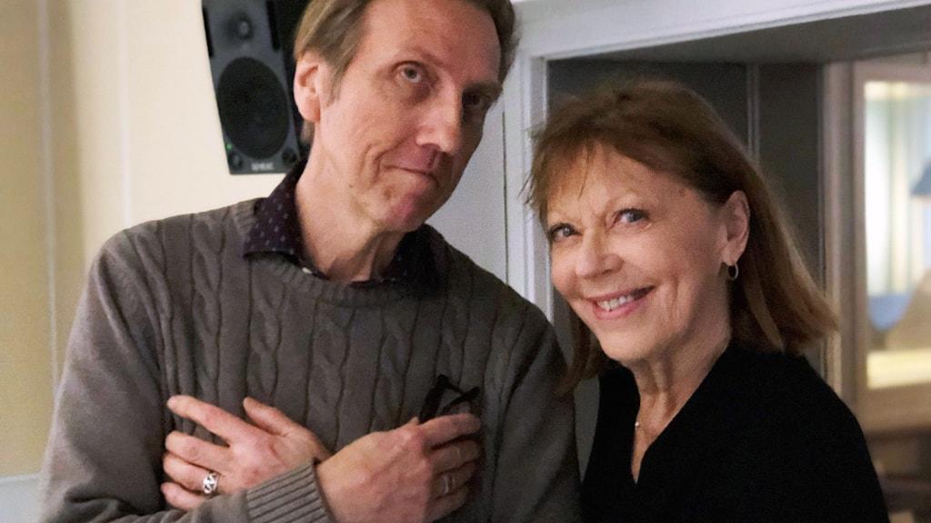 Erik Blix och Lill Lindfors.
