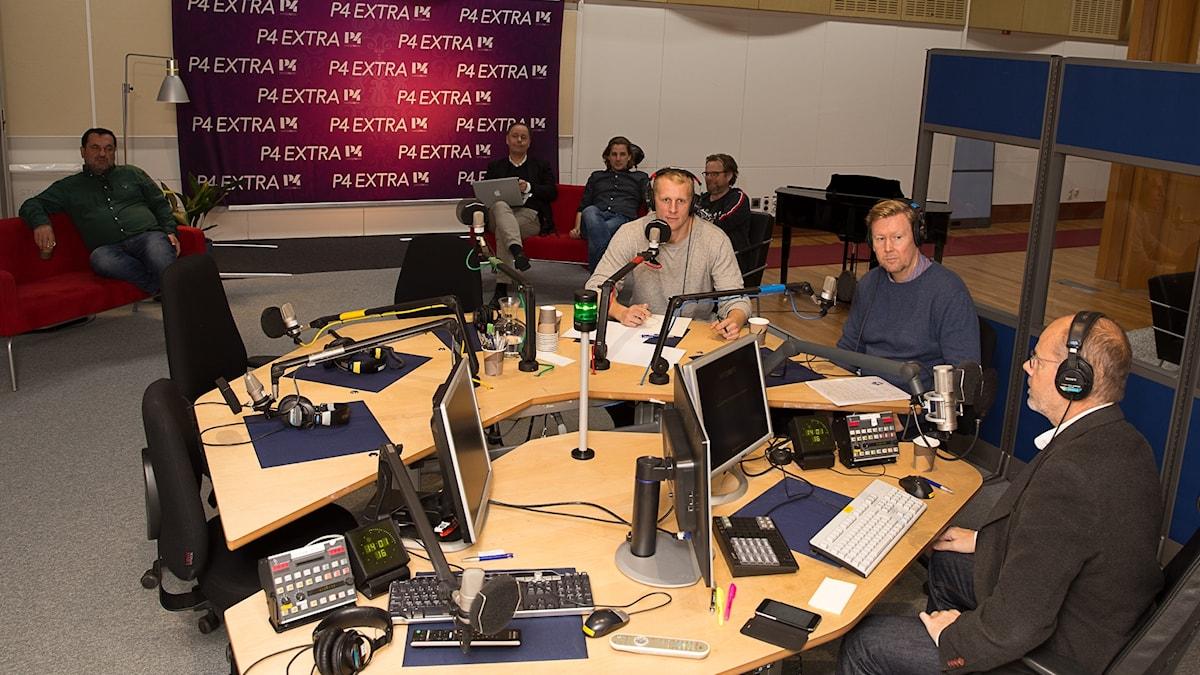 Dag Malmqvist, Peter Wettergren, Richard Henriksson m fl