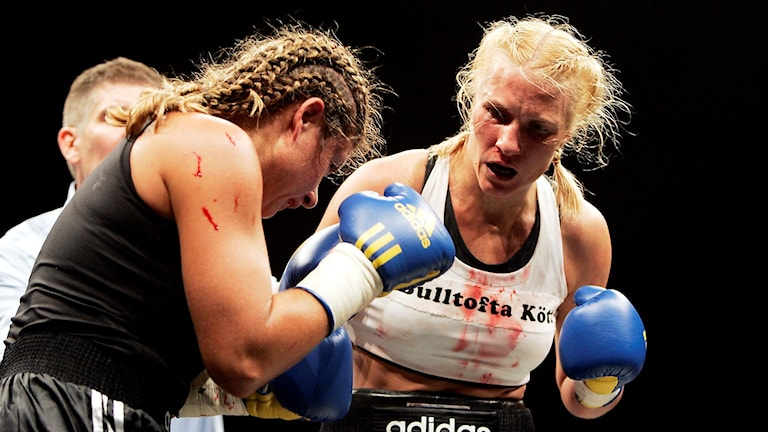 Åsa Sandell boxas mot Teresa Perozzi