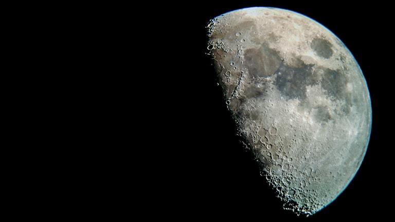 Månen i närbild