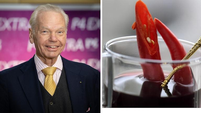 Carl Jan Granqvist och glögg