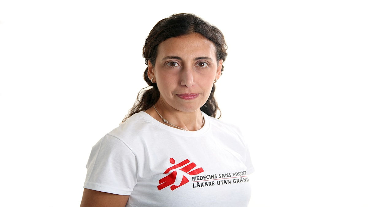 Katrin Kisswani är ordförande för Läkare utan gränser