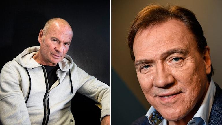 Lasse Holm och Christer Sjögren.