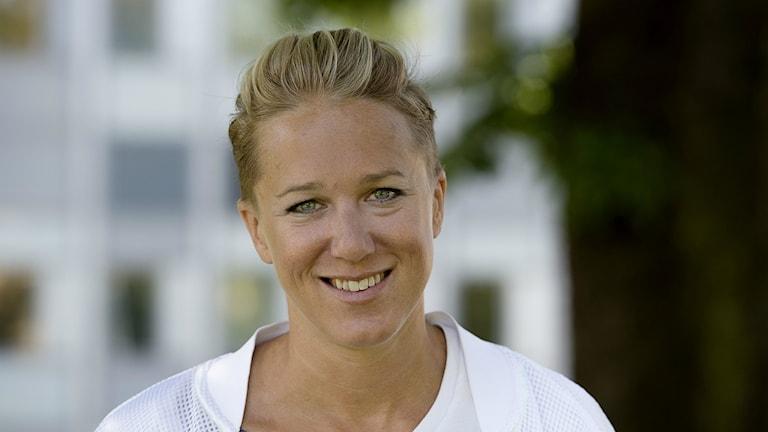 Kajsa Bergqvist är dagens gäst