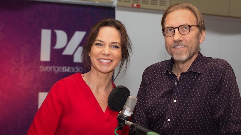 Li Pamp och Erik Blix. Foto: Åsa Stöckel/Sveriges Radio