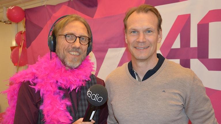 Nicklas Lidström och Erik Blix.