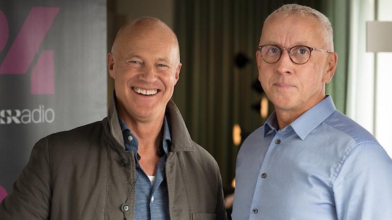 Stefan Sauk och Jan Marcusson