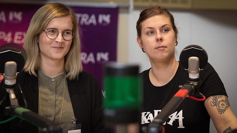 Karolina Dahl och Emmelie Renlund