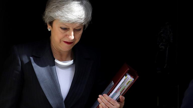 Theresa May väntas avgå som premiärminister