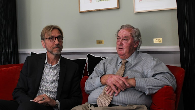 Erik Blix och Richard Leakey.