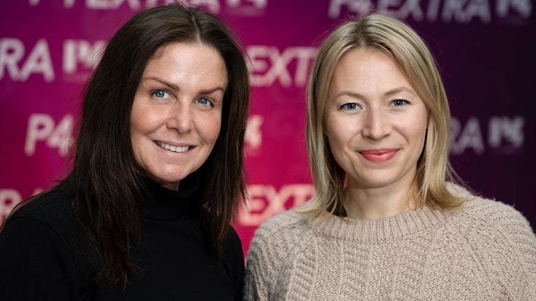 Titti Schultz och Frida Hallgren