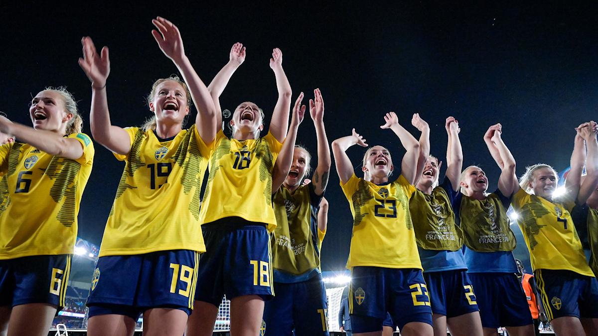 Sverige möter Tyskland i VM-kvartsfinal.