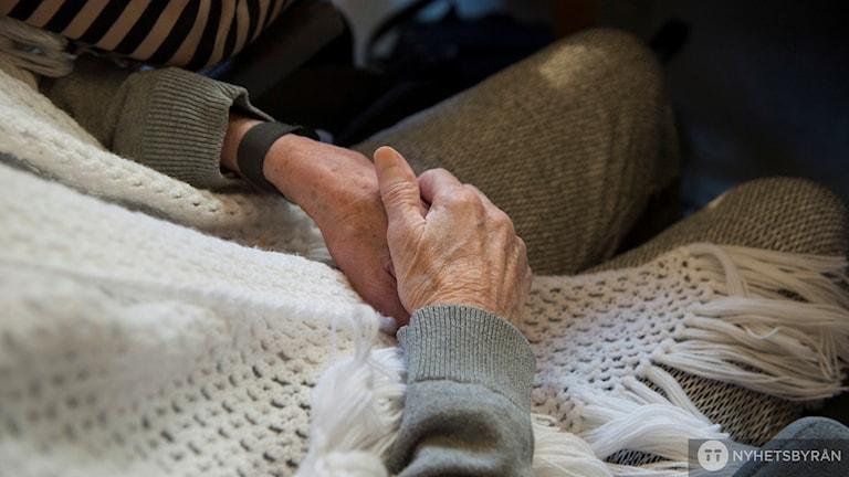 Åldrande händer