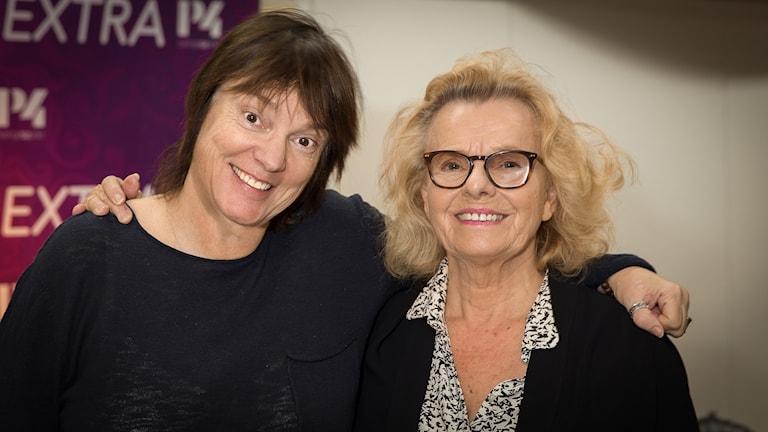 Marie Göranzon och Lotta Bromé