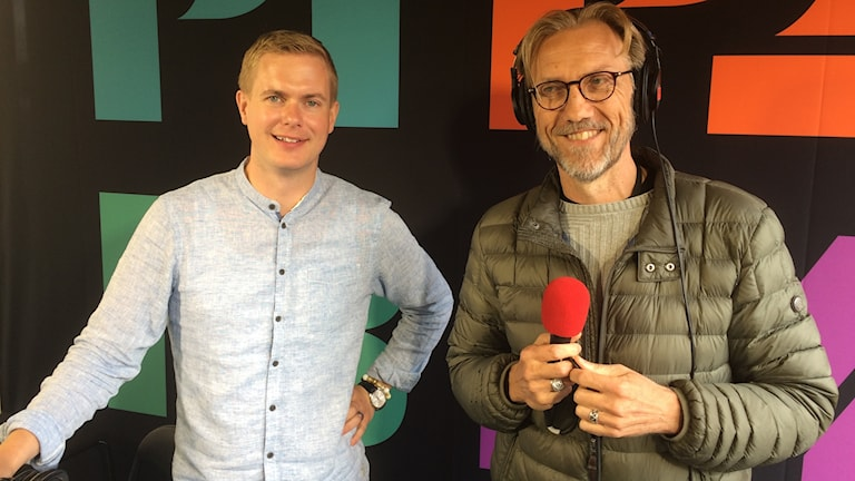 Gustav Fridolin och Erik Blix