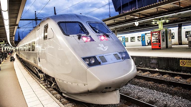 Ett av SJ:s snabbtåg