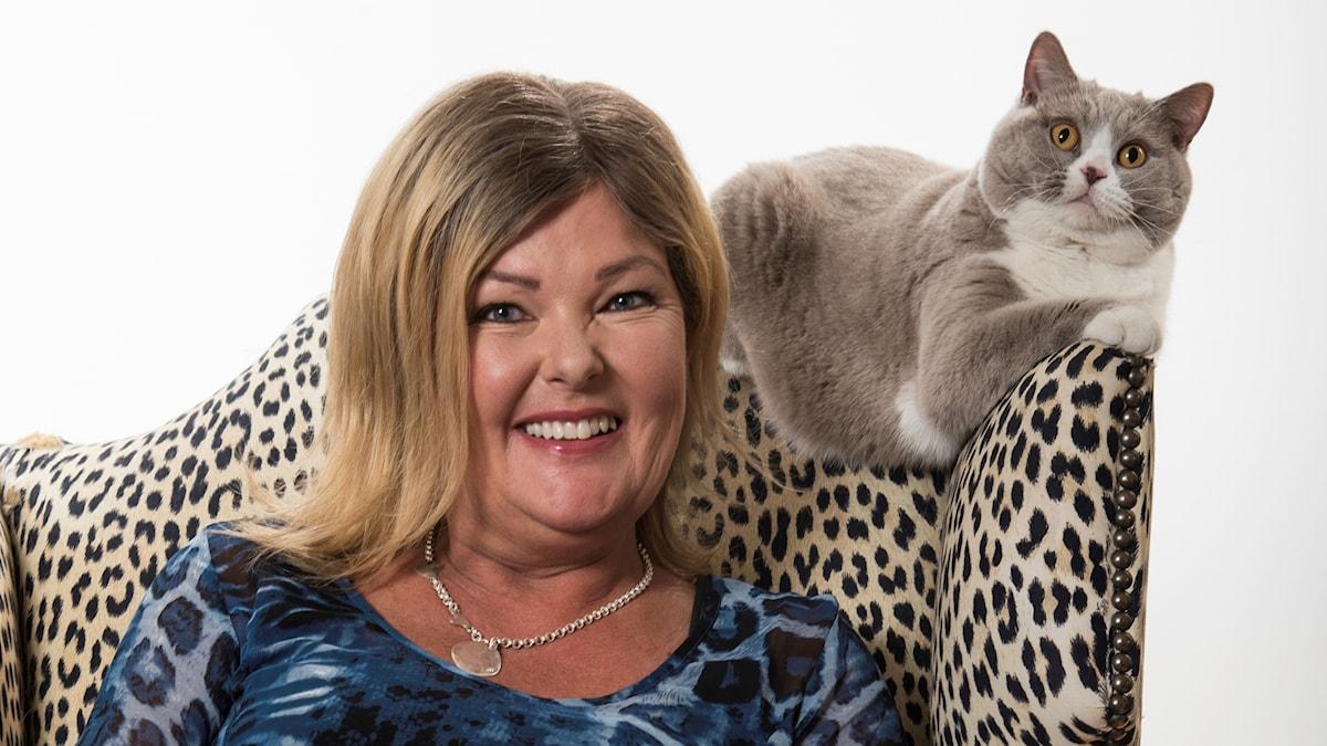 Kattexperten Susanne Hellman Holmström