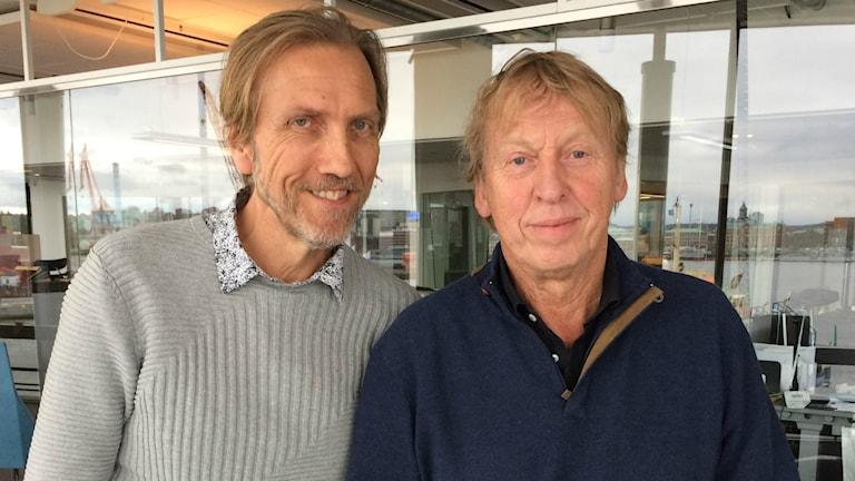 Erik Blix och Tomas von Brömssen.