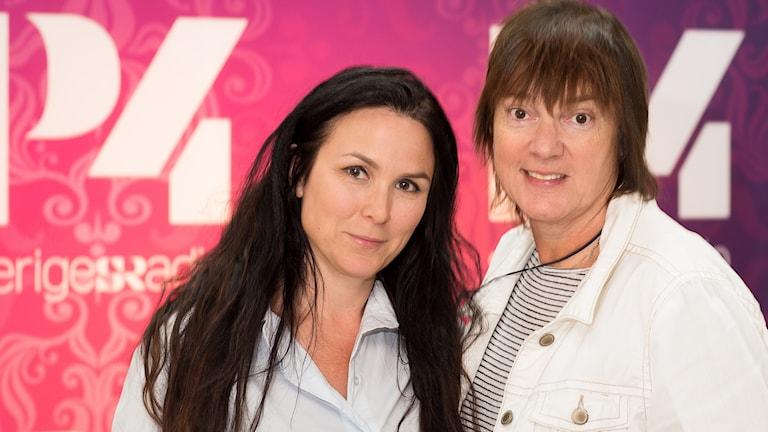 Nina Hemmingsson och Lotta Bromé