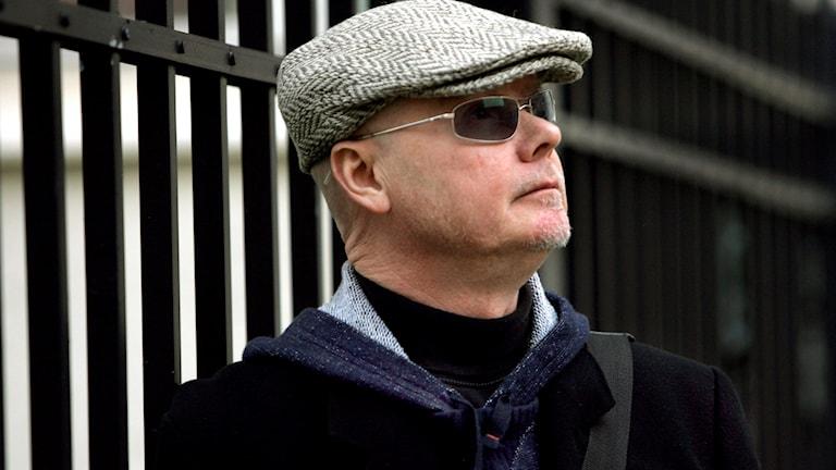 Artisten Harpo, eller Jan Svensson som han egentligen heter, gästar studion.
