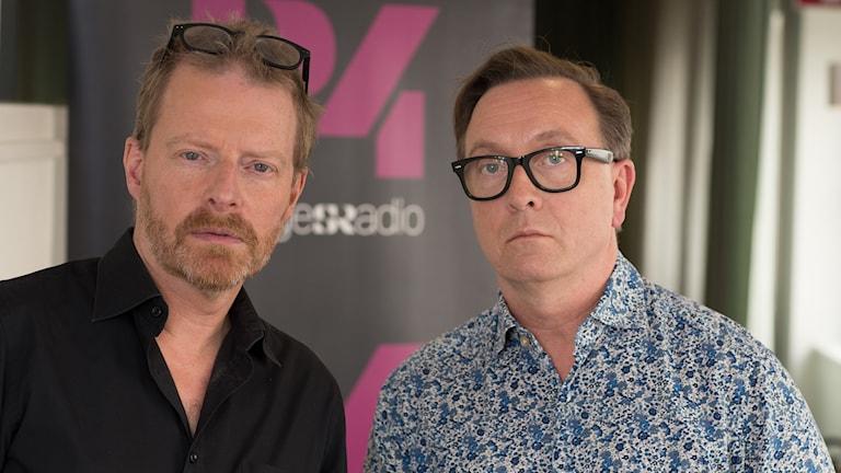 Martin Svenningsen och Clas-Johan Larsson