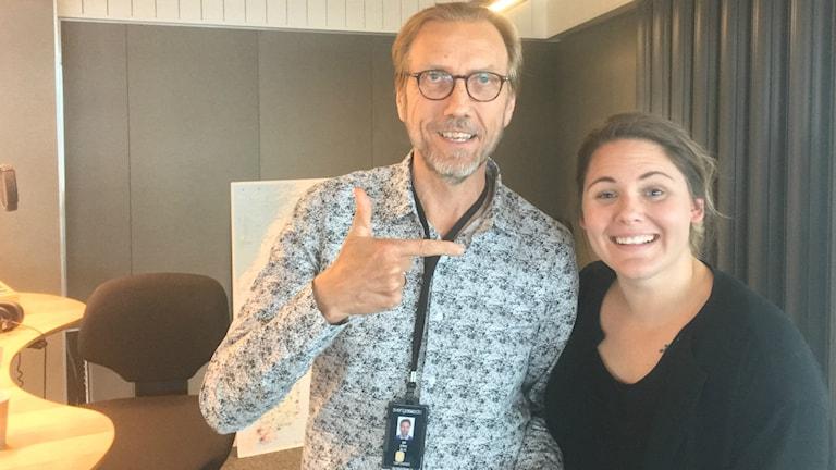 Dagens gäst Julia Mjörnstedt Karlsten gästade programledare Erik Blix den 16 september i P4 Extra