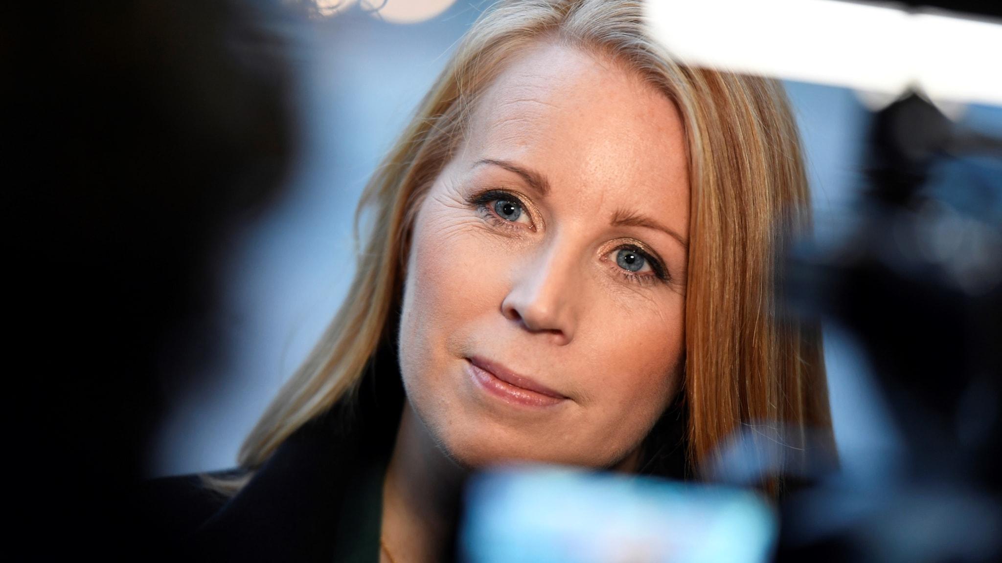 Annie Lööf om statsministeromröstningen