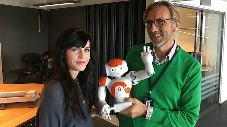 Robotforskare Sofia Serholt