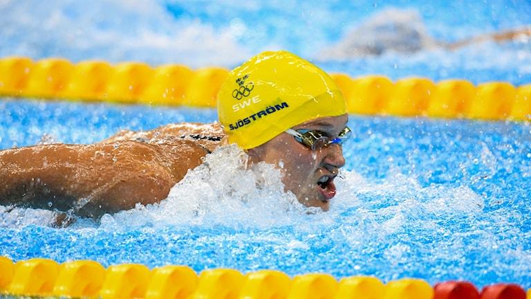 Sarah Sjöström simmar mot OS-guld