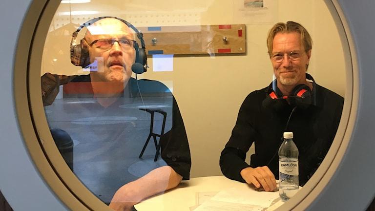 Börge Hellström och Anders Roslund